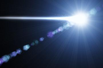 Meteorit am Himmel