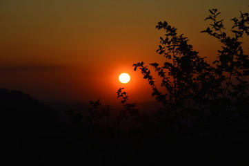 sunset, Sonnenuntergang