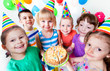 kids on bithday