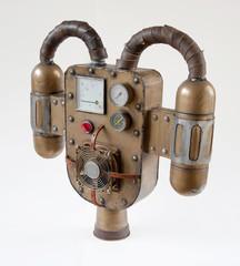 Vintage steampunk jetpack