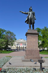 Statue of Alexander Pushkin