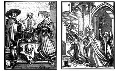 Danse Macabre - Totentanz - 15th-16th century