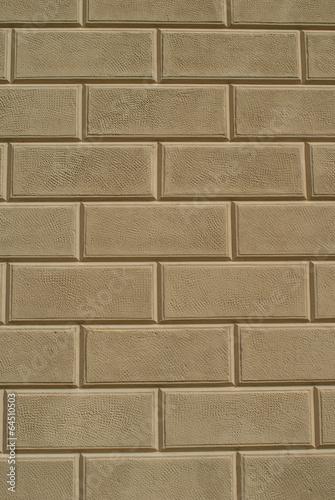 Muro con intonacatura e nuova rifinitura