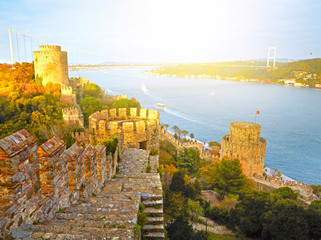 Fortress Rumelihisar. Istanbul, Turkey. HDR