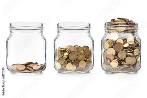 Leinwanddruck Bild Vermögensnwachstum