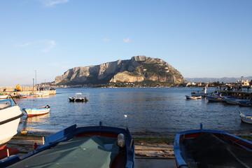Palermo, Monte Pellegrino, da Mondello