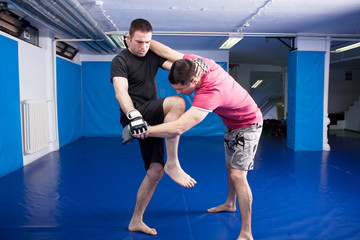 martial art training