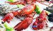 Leinwanddruck Bild - Fischspezialitäten