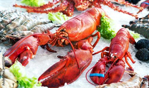 Leinwanddruck Bild Fischspezialitäten
