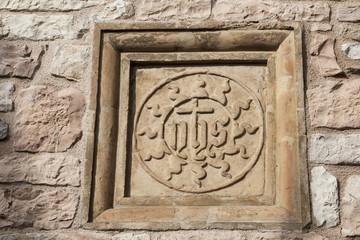 Jesus-Monogramm Assisi