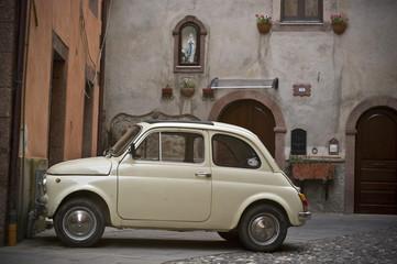 vieille fiat 500, Italie