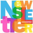 """""""NEWSLETTER"""" Letter Collage (advertising marketing consumer)"""