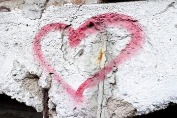 Herz Grafiti