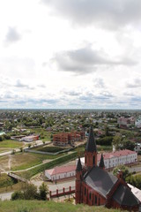Tobolsk, the Temple the Blessed Trinity