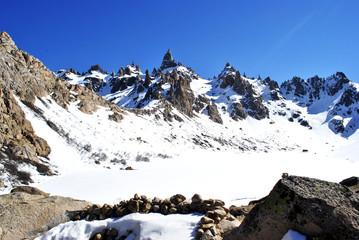 Nieve en el Cerro Catedral