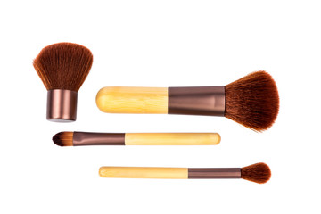 Cosmetic brushes. Isolated