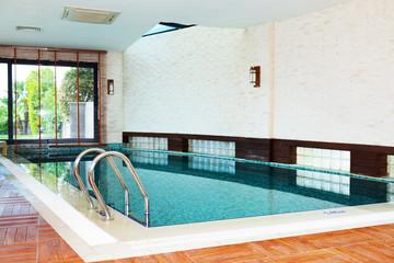 Spa swimming pool at the luxury hotel, Antalya, Turkey