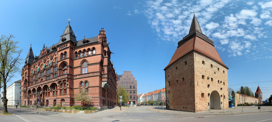 Steintor und Oberlandesgericht Rostock