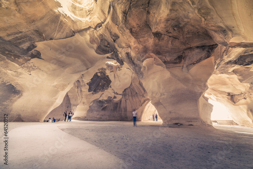 Foto op Aluminium Oude gebouw Bell cave at Beit Guvrin