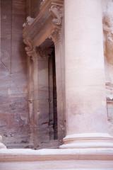 Ruins of first century lost city of Petra, Jordan