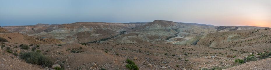 Ein Avdat panorama