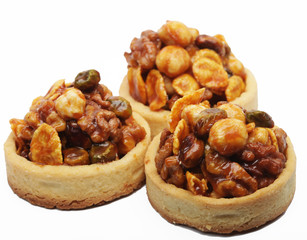 Little nuts tarts.