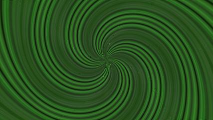 The Magical Hypnotic Metallic Wire Swirl