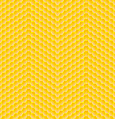 Seamless pattern of honeycomb