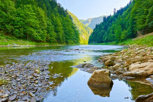 die-dunajec-schlucht-pieninen-nationalpark
