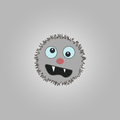 funny cartoon monster