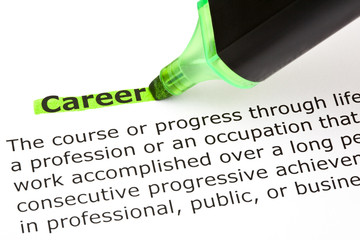 Career highlighted in green