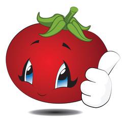 Cartoon Kawaii Tomato