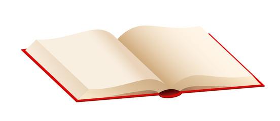 Buch, offen