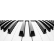 Piano keyboard. Abstract background with a field for text - 64530399