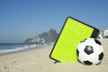 Football Tactics Board Soccer Ball Rio