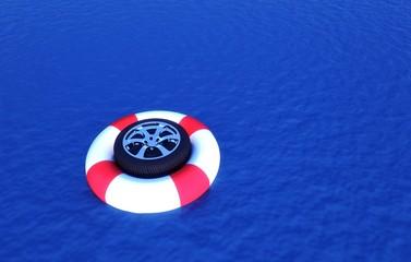 Pneumatico Invernale, aquaplanning, salvagente, sicurezza
