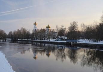 Dawn landscape Vishny Volochyok
