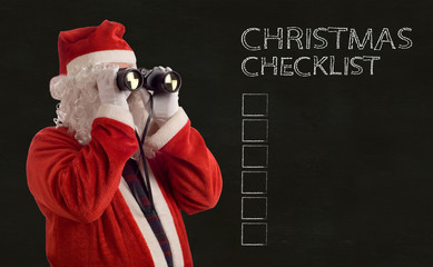 Father Christmas Business Strategy checklist
