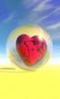 boule de cristal - coeur brisé