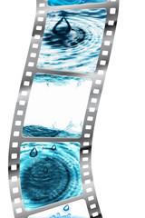 Filmstreifen - Wasser