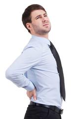 Feeling backache.