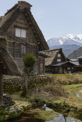 Traditional building of Shirakawago, Japan