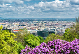 View of Pest, eastern part of Budapest. Hungary poster