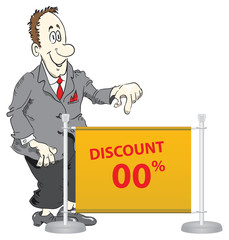 Manager offers discounted