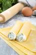 cannelloni ripieni preparazione pasta fatta a mano