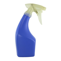 special design blue plastic water sprayer, interesting shape fog