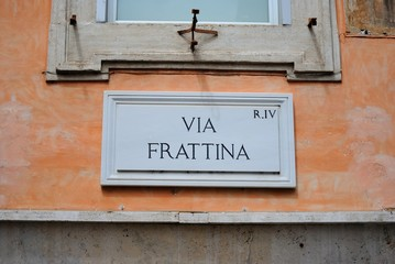 Roma, Via Frattina