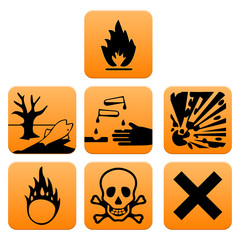 Hazard pictograms Europe standard