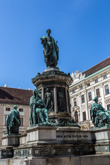 Amalienburg in the hofburg complex, Vienna