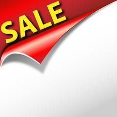 Sale - Papier mit Öffnung